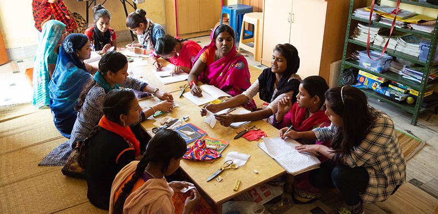Curso de costura - empoderamiento mujer - semilla para el cambio