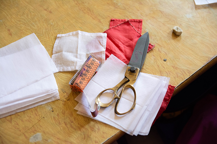 Materiales costura - empoderamiento mujer - semilla para el cambio