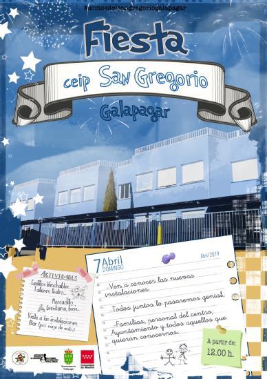Cartel-fiesta-san gregorio galapagar
