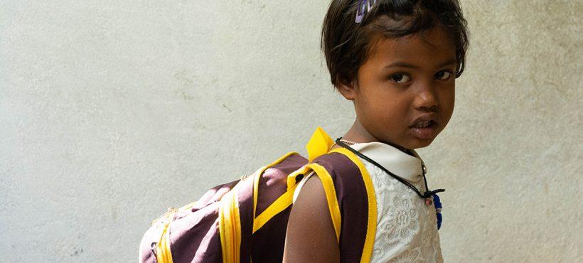 Treinta y siete nuevas alumnas y alumnos son escolarizados en el curso escolar que arranca en Varanasi