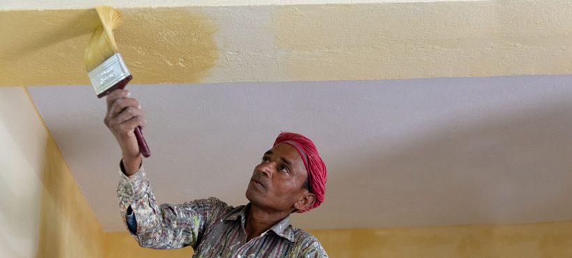 Nueva pintura y organización para el centro de Semilla en Sigra
