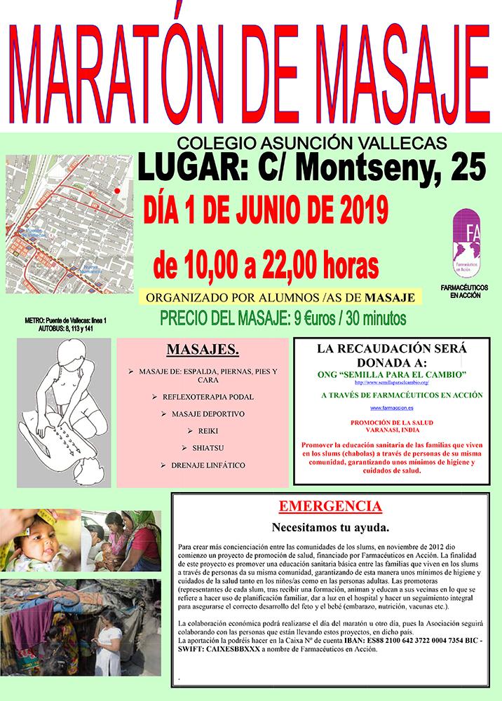 MARATON MASAJES - FARMACEUTICOS EN ACCION