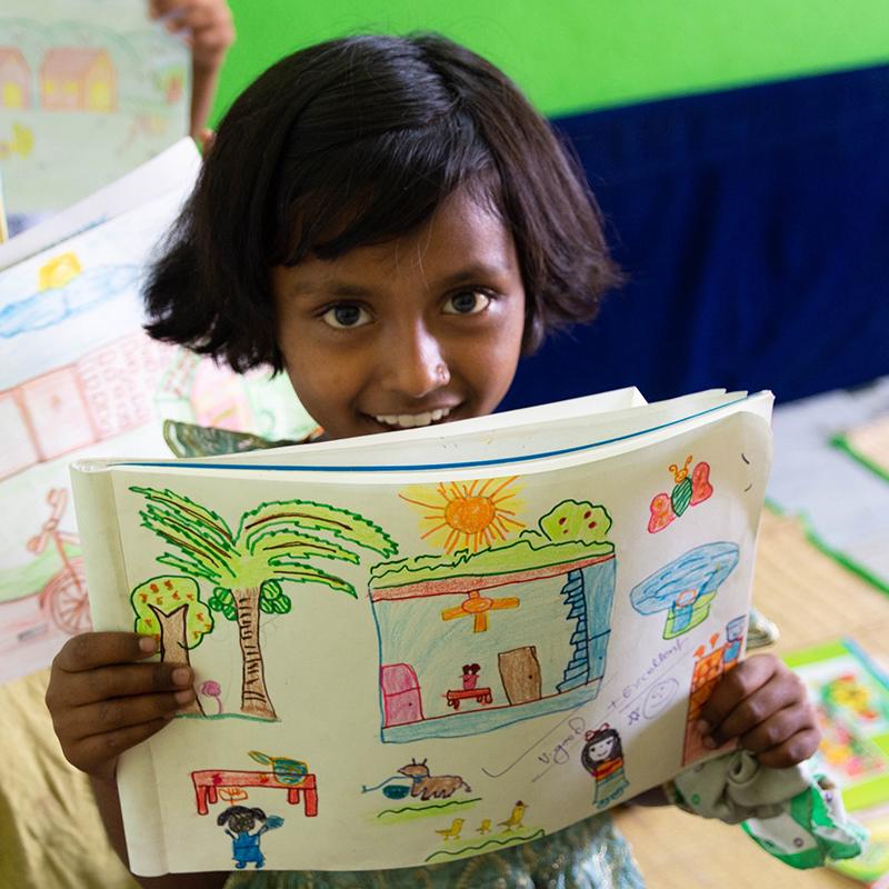 Dibujo - Educación - Semilla para el cambio