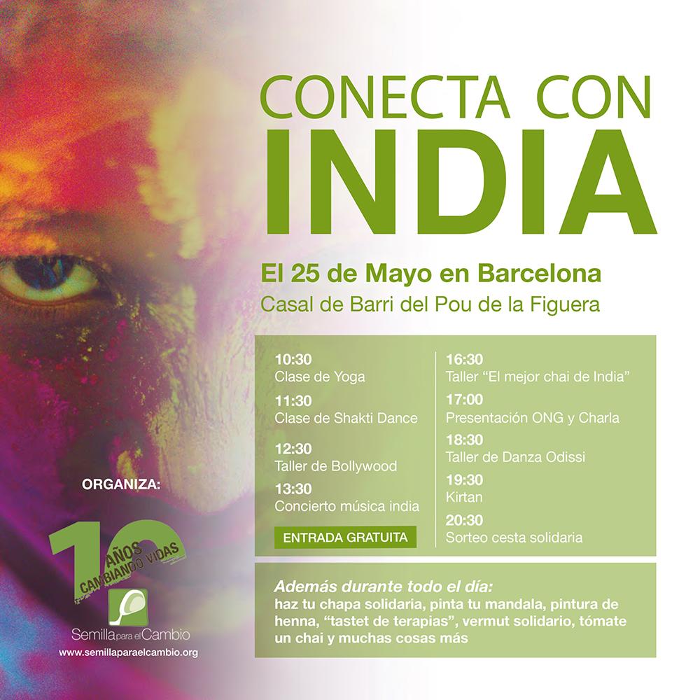 Conecta con India - Semilla para el Cambio
