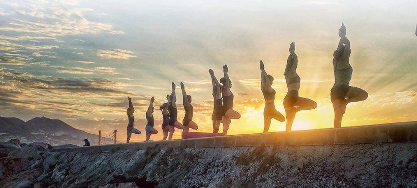 El grupo de voluntariado de Andalucía participa este fin de semana en el Festival de Yoga de Fuengirola