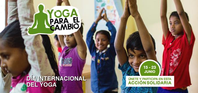 Semilla y Yoga en Red organizan la tercera edición de 'Yoga para el Cambio'