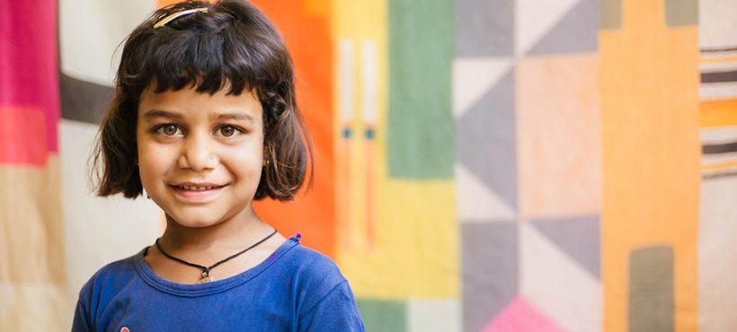 «Lo que más le gusta es jugar con sus amigos y amigas en la ONG». Nargis, estudiante de Sigra
