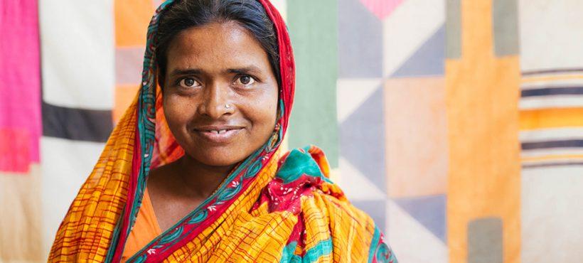 """""""Los problemas que del pasado nos hicieron más fuertes, ahora queremos mirar hacia adelante"""". Pyari, artesana de Semilla"""