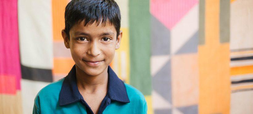"""«Para el futuro quiero prosperidad y que menos personas vivan en la pobreza"""". Rehan, estudiante de Semilla"""