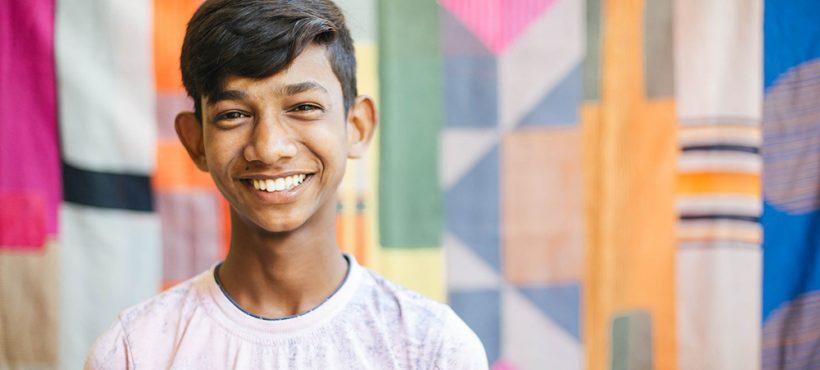 «Mi pasado era horrible, no quiero recordarlo. La educación es el único camino para un futuro mejor». Sajid, estudiante de Semilla