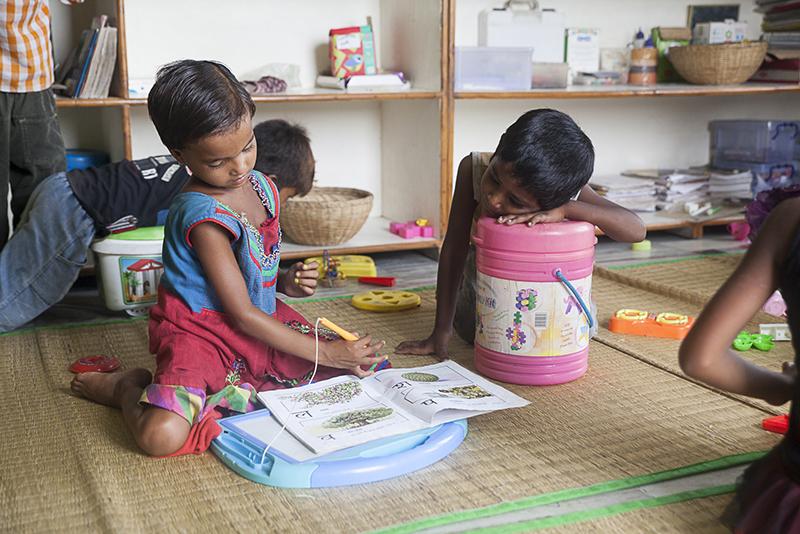 Estimulación temprana - slums - Semilla para el cambio