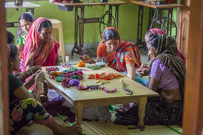 Taller de artesanía - Regalos solidarios - Semilla para el cambio