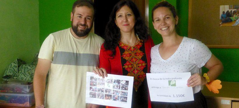 «Nuestra campaña de recogida de fondos tuvo una gran acogida. La gente nos dejó fascinados con su solidaridad y su esfuerzo»