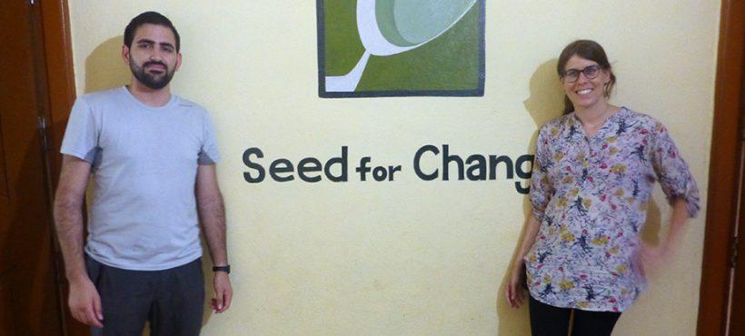 Dos nuevos voluntarios se unen al equipo de Semilla en India