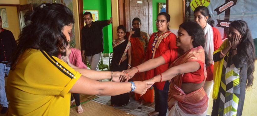 Una jornada de 'team building' para fomentar el sentimiento de equipo en la ONG