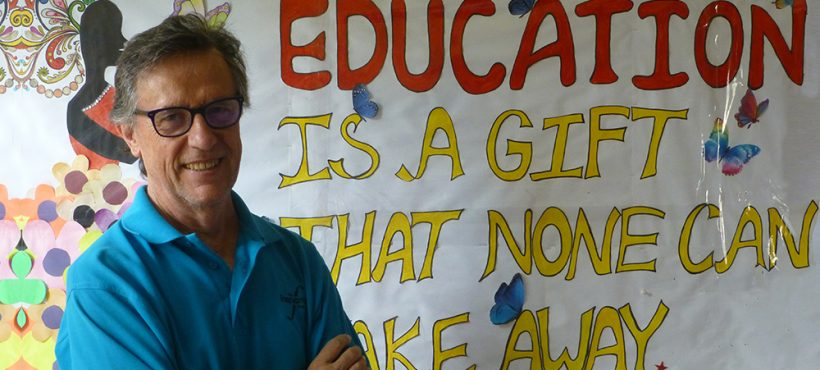 «Los niños y niñas del Programa de Educación están aquí porque quieren aprender, y saben que esta es su oportunidad»