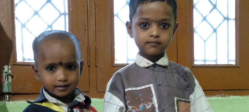 El primer día de clase de Aroob y Ashiq