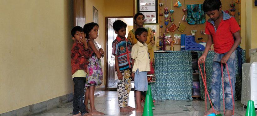 Circuitos de psicomotricidad, una nueva herramienta para impulsar el desarrollo de los niños y niñas de los slums