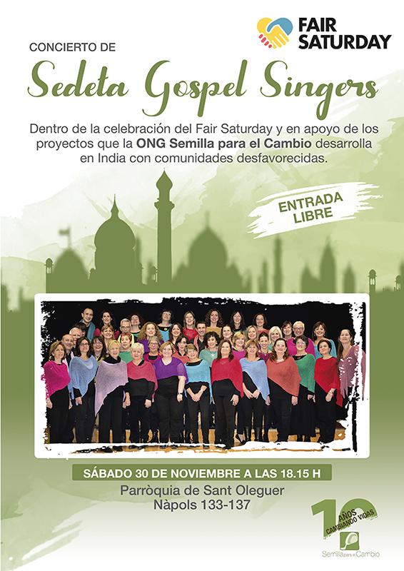 Gospel - Fair Saturday - Semilla para el cambio