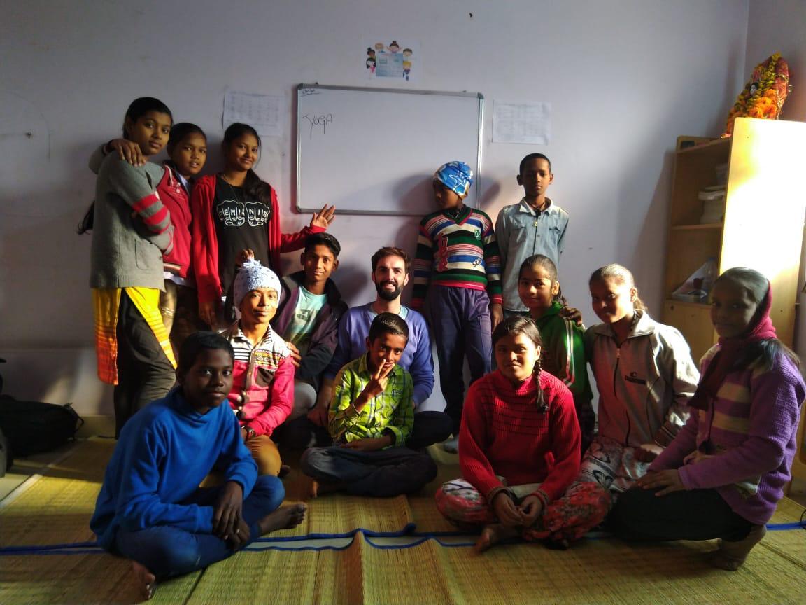 Clase de meditación tibetana