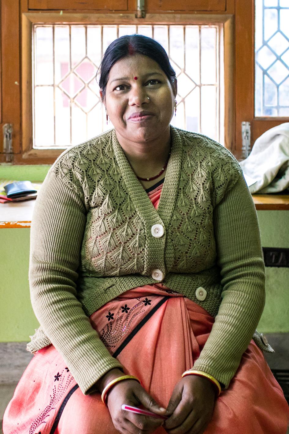 Sarita Sahani -Profesora de Alfabetización - Semilla para el Cambio