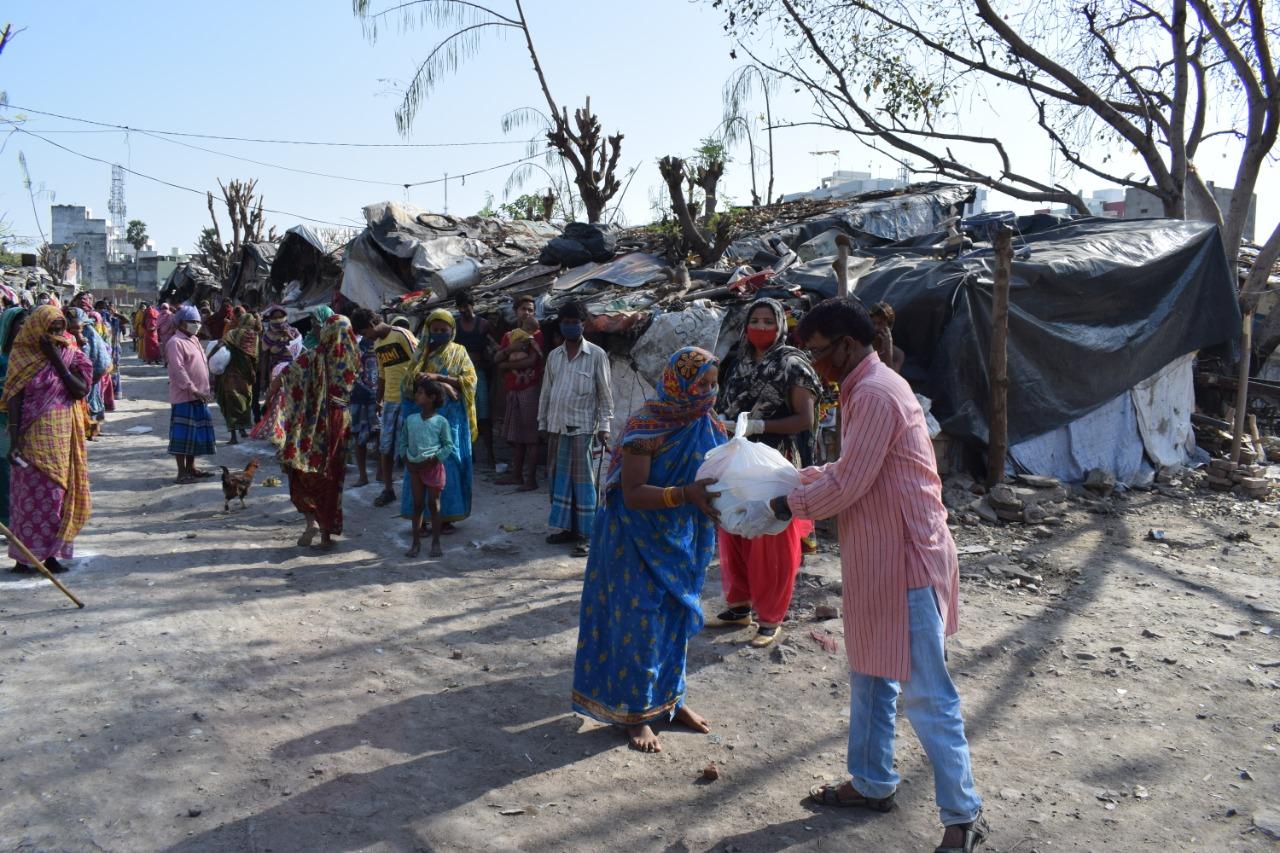 Semilla para el Cambio - Distribución alimentos slums