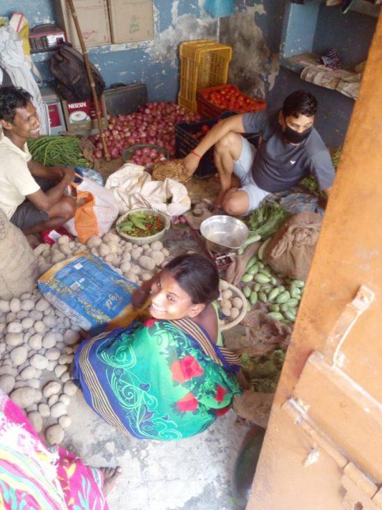 Semilla para el Cambio - Verdulería en los slums