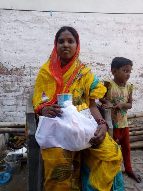 Semilla para el Cambio - distribución de alimentos en los slums