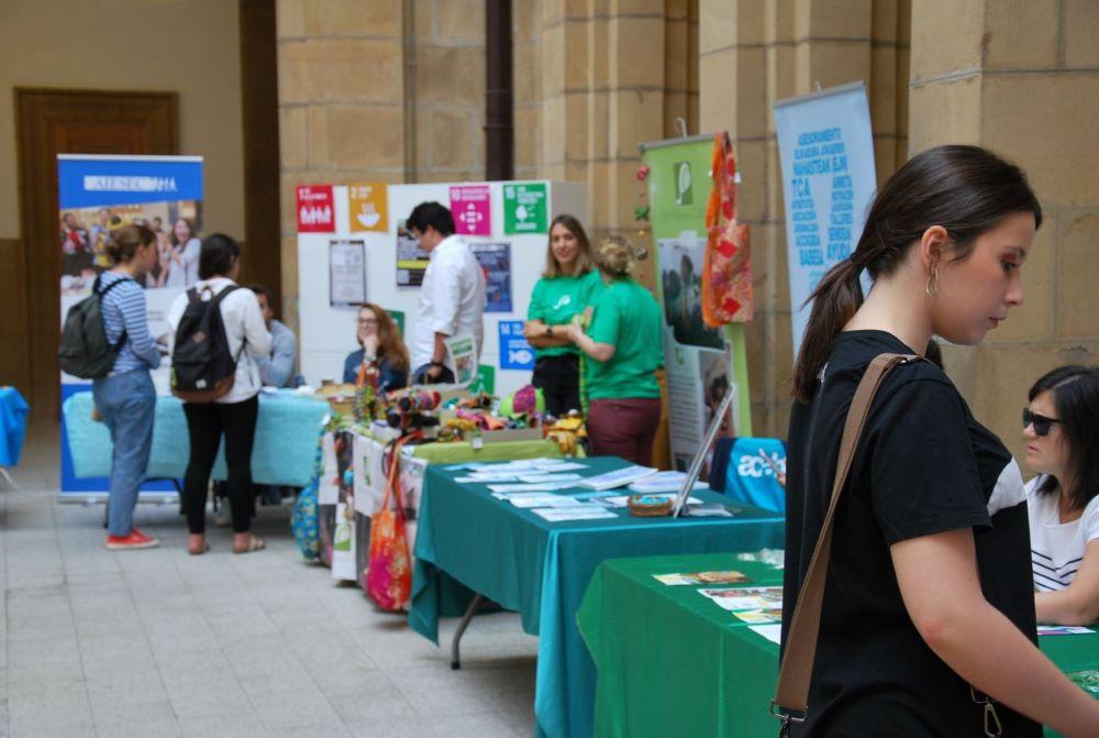 Feria voluntariado Euskadi - Semilla para el Cambio