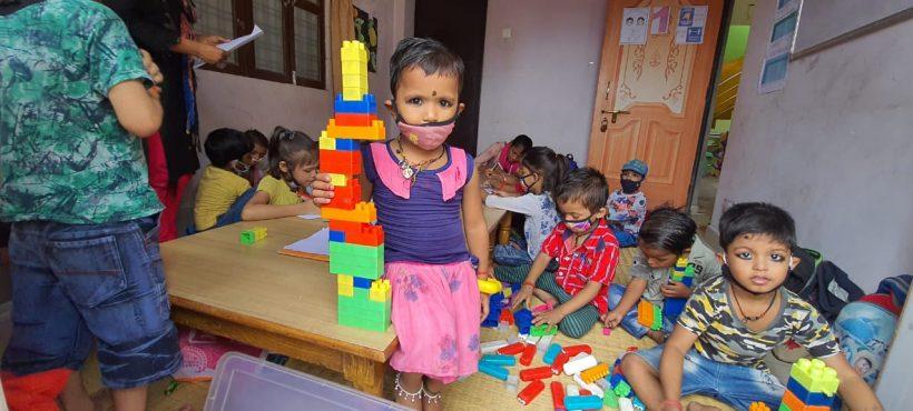 Más de una veintena de niños/as de entre 4 y 6 años comienzan las clases preparatorias